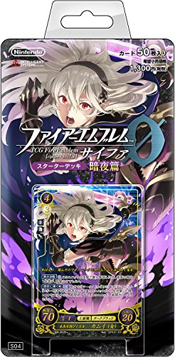 TCG Fire Emblem 0 (cipher) Starter Deck ''dark night '' by Nintendo