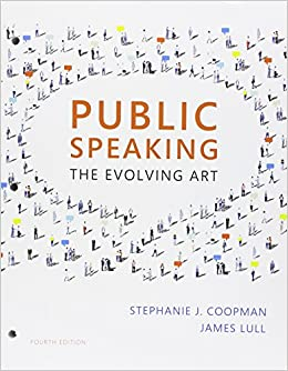 Bundle: Public Speaking: The Evolving Art, Loose-Leaf Version, 4th + LMS Integrated MindTap Speech, 1 term (6 months) Printed Access Card