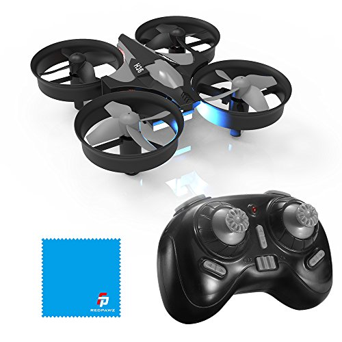 REDPAWZ H36 Mini Drone 2.4G 4CH 6Axis Gyro Headless Mode Remote Control One-Key Return RC Quadcopter Drone for Kids RTF