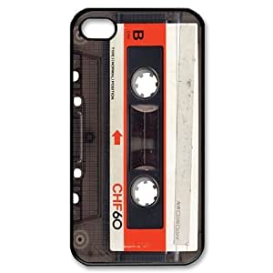 Custom Your Own Personalised Cassette Iphone 4/4S Best Durable Hard Cover Case