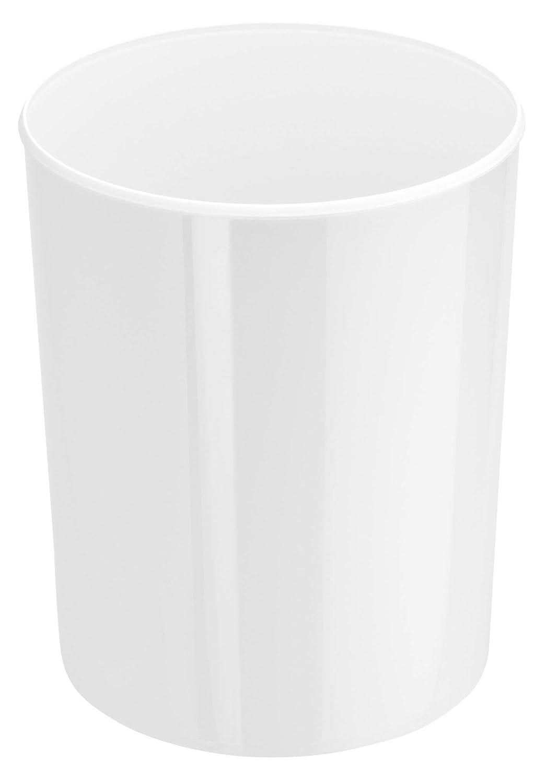 13 l 219//240 mm Cestino i-Line rotondo polistirene colore: Bianco 300 mm Han 18130-12