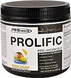PEScience Prolific Pre-Workout Mango Splash -- 20 Servings - 3PC