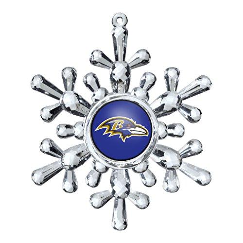 NFL Baltimore Ravens Snowflake