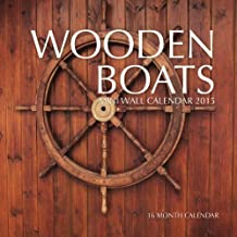 Wooden Boats Mini Wall Calendar 2015: 16 Month Calendar by Sam Hub (2015-01-28)