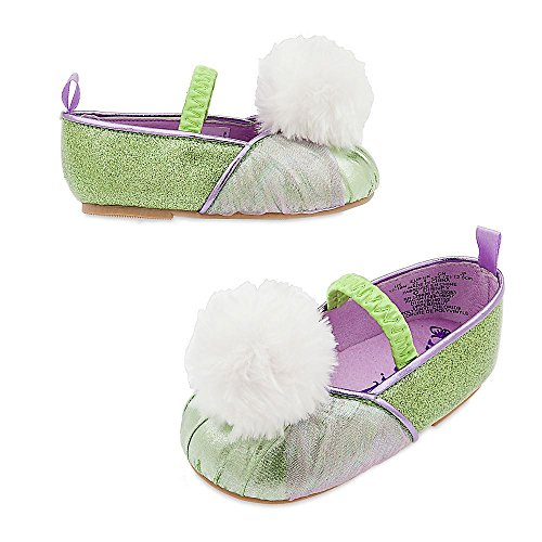 Disney Store Tinker Bell Tinkerbell Costume Shoes Baby 18 - 24 Months 2T 2 Years