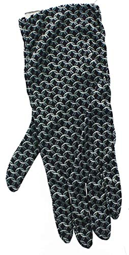 Underwraps Renaissance Chainmail Costume Gloves Black