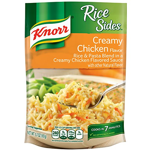Rice Side Dishes (Knorr Rice Sides Dish, Creamy Chicken, 5.7 Ounce(Pack of 8))