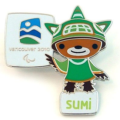 2010 Vancouver Olympic Pins - Vancouver 2010 Olympics - Sumi Mascot Pin