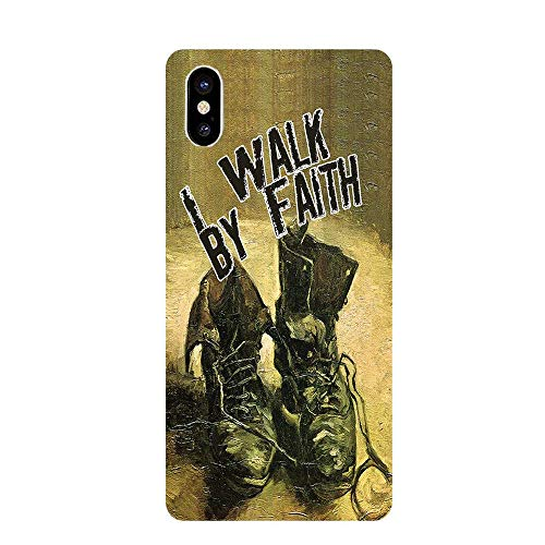 iPhone X Protective Case with Christian Theme (with embossed text