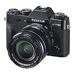 Fujifilm X-T30 Mirrorless Digital Camera w/XF18-55mm F2.8-4.0 R LM OIS Lens – Black