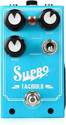 Supro Tremolo - Amplitude and Harmonic Tremolo Drive Pedal (Best Harmonic Tremolo Pedal)