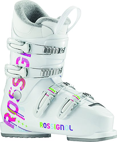 (Rossignol Fun Girl J4 Girls Ski Boots - 24.5/White)