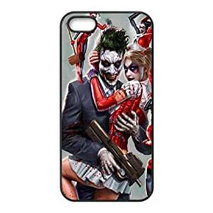 iPhone 5 5s Cell Phone Case Black Harley Quinn R4G6C