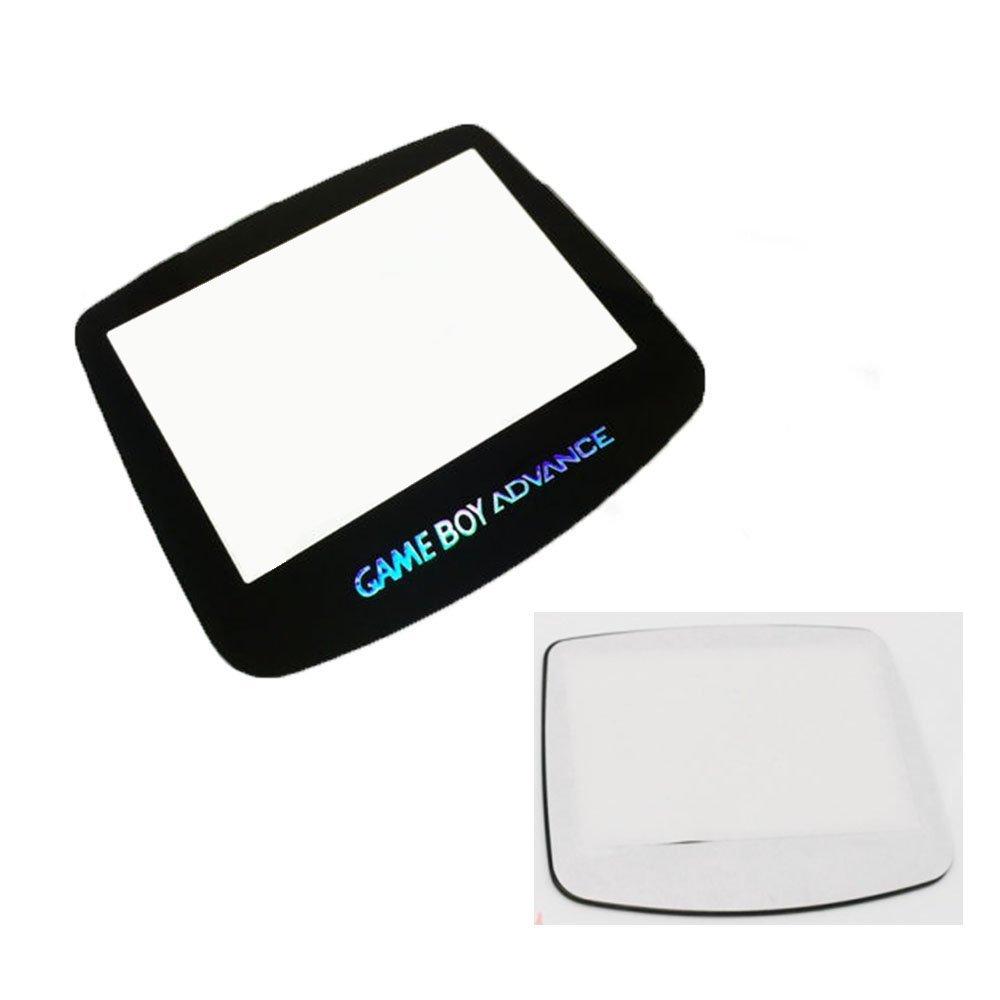 Panel Bildschirm Objektiv mit Rü ckseite selbstklebend fü r Game Boy Advance GBA System Ersatz Perfect Part