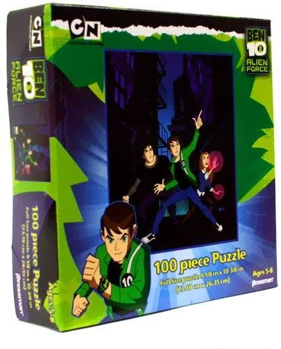 Ben 10 Alien Force 100 Piece Puzzle Ben, Kevin & Gwen