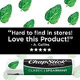 ChapStick Classic Spearmint Lip Balm Tubes for Lip