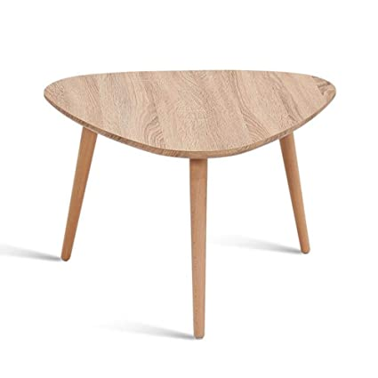 Attractive Amazon.com: Living Room Furniture CJC Table, Nesting Side Set Triangle End,  Coffee Table Solid Beech Legs, Nature Wood Color (Size : 9045CM): Kitchen U0026  ...