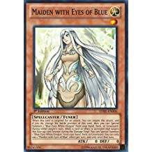 Yu-Gi-Oh! - Maiden with Eyes of Blue (SDBE-EN006) - Structure Deck: Saga of Blue-Eyes White Dragon - 1st Edition - Super Rare by Yu-Gi-Oh!