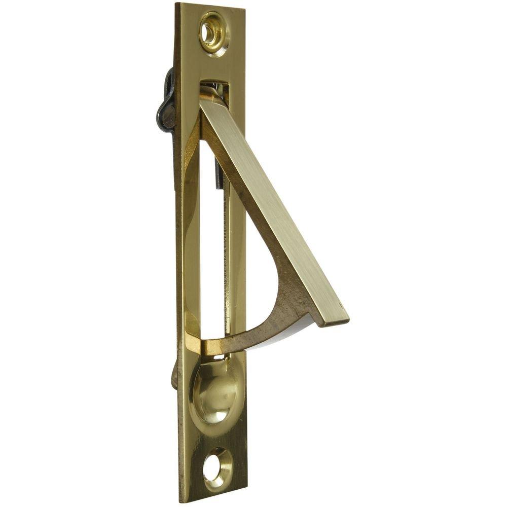 National Hardware N216-051 V1949 Door Edge Pull in Solid Brass