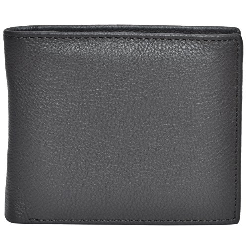 Clifton Heritage Mens Mens Leather Wallets Money Clips Card Cases Top Models To ChooseBrown Small by Clifton Heritage (Image #3)