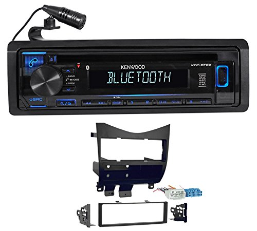 (Kenwood CD Receiver w/Bluetooth iPod/iPhone/Pandora for 2003-2007 Honda)