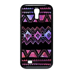 Customized Cover Case for SamSung Galaxy S4 I9500 (Aztec Pattern CCW-40468)