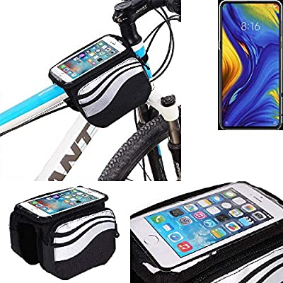 K-S-Trade® Bolso Bolsa Funda Bicicleta para Xiaomi Mi Mix 3 5G ...
