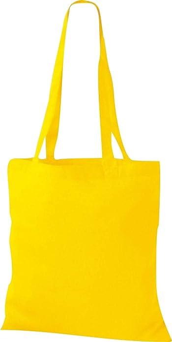 ShirtInStyle Premium Bolsa de tela Bolsa de algodón Bolsa Comprador Bolso de bandolera de muchos colores