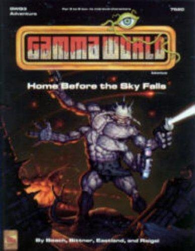 Home Before the Sky Falls Gwq3 (Gamma World Game Module) (Game Module)