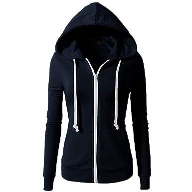 Veste à capuche zippée LA Athletic Élégant et beau Femme