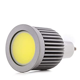 Greenice | Bombilla de LEDs COB GU10 7W 580Lm 30.000H | Blanco Cálido