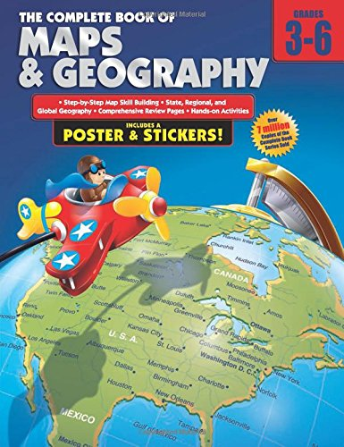 the plete book of maps and geography grades 3 6