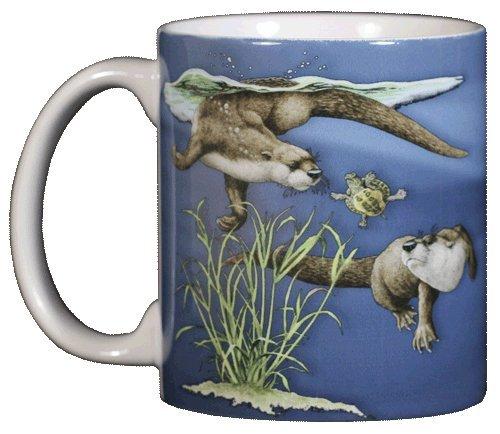 Otter Splash 11 oz. Ceramic Coffee Mug (Otter Costume)