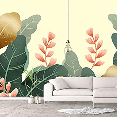 Wall Murals for Bedroom Green Plants Animals Removable Wallpaper Peel and Stick Wall Stickers, Premium Product, Pretty Handicraft