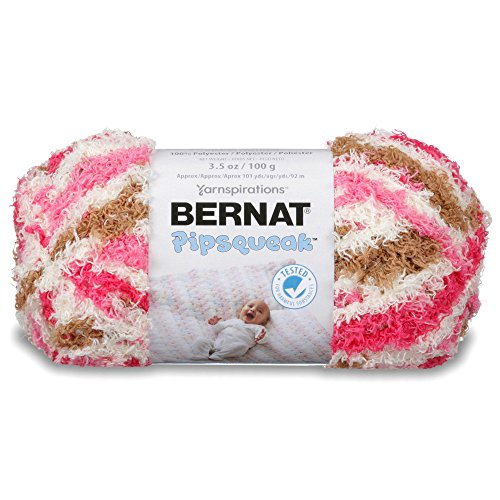 Bernat Pipsqueak Yarn, 3.5 oz, Neopolitan, 1 Ball