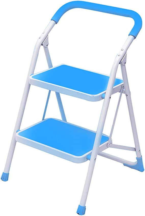 Taburetes Escalera, escalera multifuncional plegable escalera de escalada acolchada escalera de la palabra del hogar escalera de dos escalones taburete cocina escalera plegable taburete: Amazon.es: Hogar