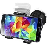 Samsung Galaxy S5 Easy-dock Car Mount Holder [Windshield/Dashboard Cradle Kit] New 2015 Version