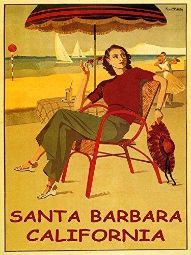 Santa Barbara California Lady Girlハワイアンビーチダンスヨット旅行32