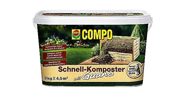 Compo rápido de compostador Plus Guano 3 kg (cksl 3): Amazon ...