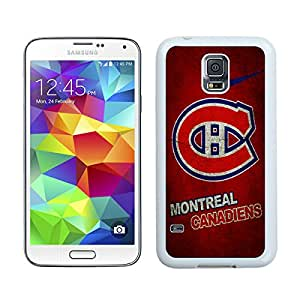 montreal canadiens 01 White Hottest Sell Customized Samsung Galaxy S5 I9600 Case