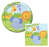 Best Creative Converting Friends Plates - Forest Friends Jungle Animals Lunch Napkins & Plates Review