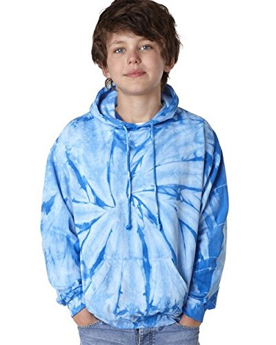 Tie-Dye 8777B Youth Cotton Spider Hoodie