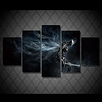 Dark Souls print canvas decoration 5 pieces