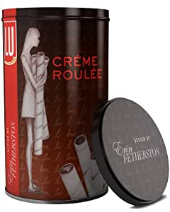LU Erin Fetherston Designed, Creme Roulee Dark Chocolate European Style Rolled Wafers, 14.1-Ounce Canisters (Pack of 3) [Amazon.com Exclusive]