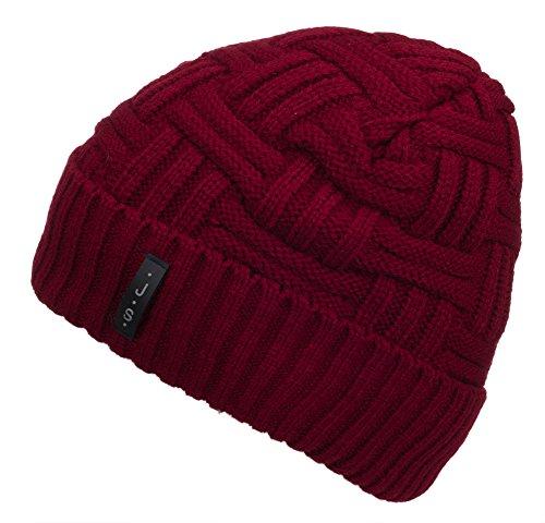 Red Winter Beanie - 2