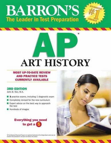 Barron's AP Art History, 3rd Edition cover