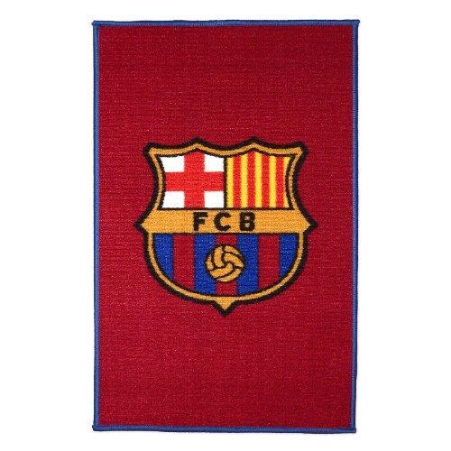 FC Barcelona CREST Vorleger Kinder Spiel Teppich Badematte 80 x 50 cm