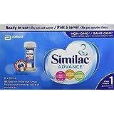 Similac Advance Step 1 Infant Formula, Ready to feed Nursette Bottles
