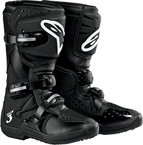 Alpinestars Stella Tech 3 Women's MotoX Motorcycle Boots - Black / Size 6