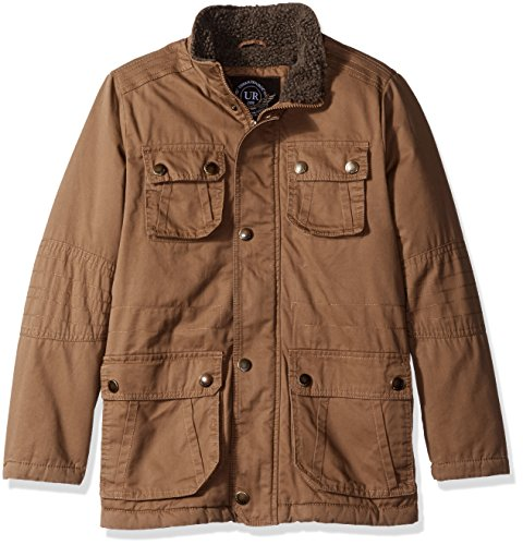 with Urban Lining Saddle Safari Big Jacket Sherpa Boys' Republic XXxTzqvw1